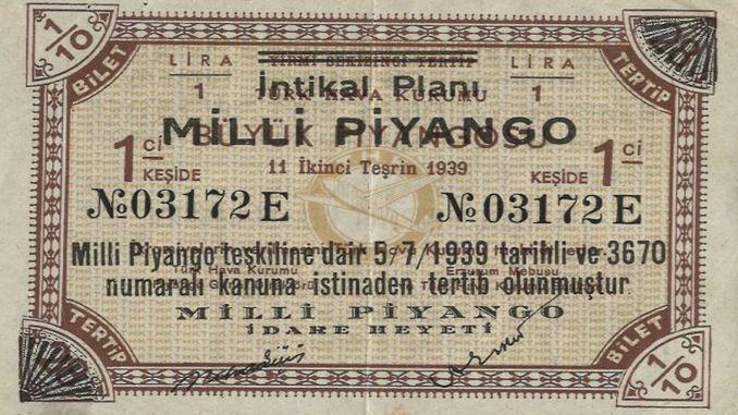Gründung der Nationalen Lotterieverwaltung