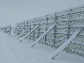 حارس الثلج PVC