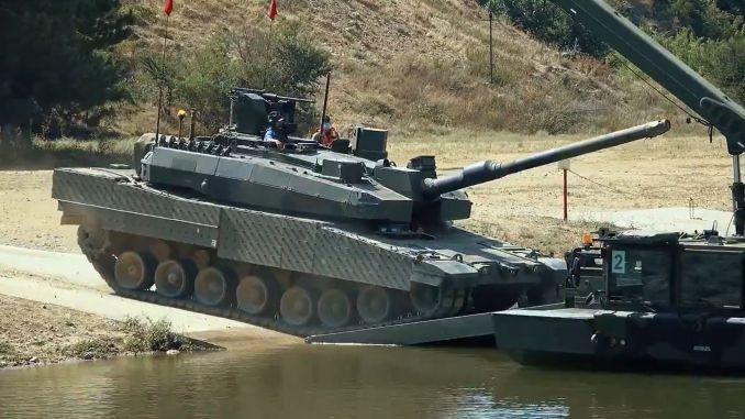 Altai tank will be delivered to tskya at the beginning of the year