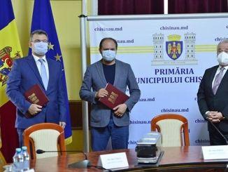 Анадолу Исузу подписа офертата за автобуса на Кининевин в Молдова