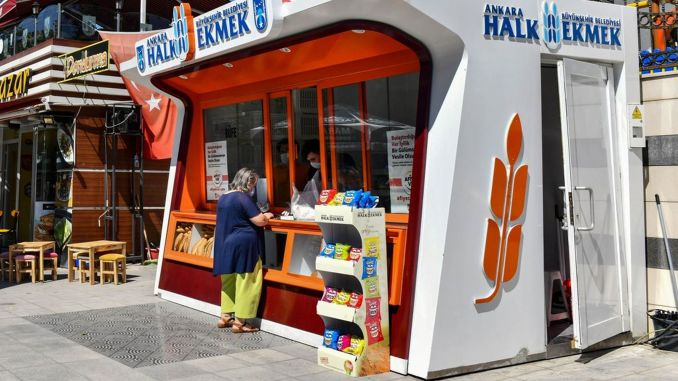 ankara expands public bread service network