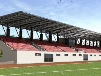 Bergaman uuden stadionin työ on aloitettu