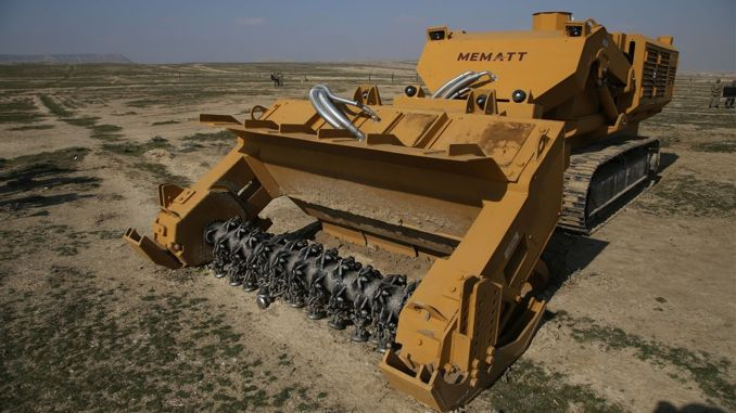 unmanned mine clearance equipment mematt export to burkina faso