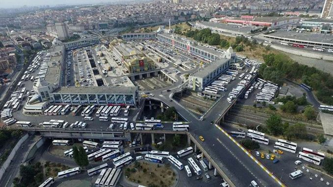grand istanbul bus station hosted millions of people during the feast