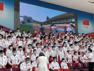 gin sudjeluje u tokyo olimpijskim igrama sa svojom vojskom sportaša