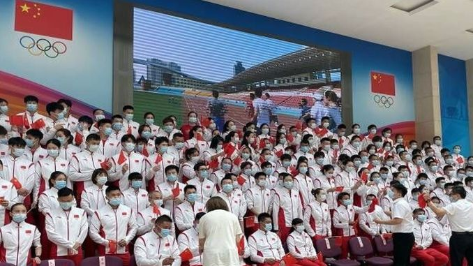 gin participates in the tokyo olympic games with its army of athletes