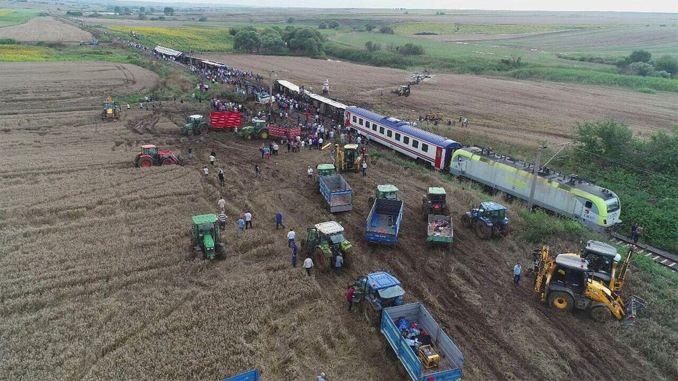 corlu train accident