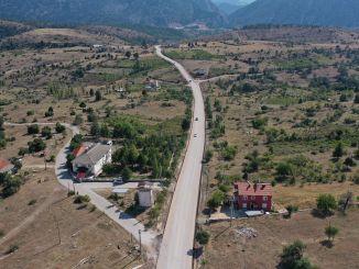 Строительство дороги в районе Деребучак Генк