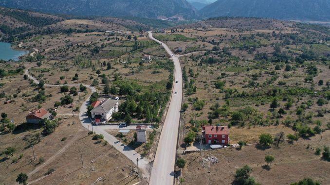 derebucak genk neighborhood road completed