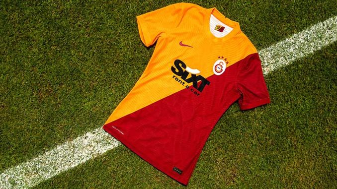 galatasaray introduced home and away jerseys