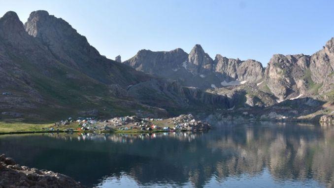 nature sports festival was held at the sat glacier goals in hakkari