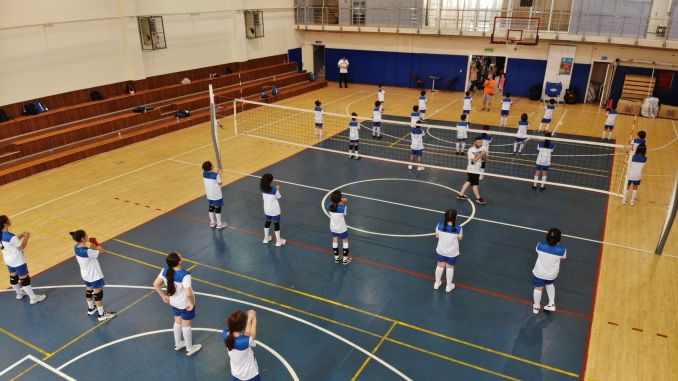 Free summer sports schools started in the halls of the ibb