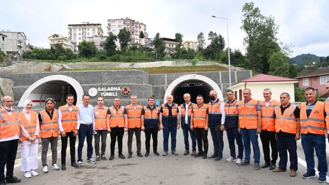 İkizdere Tunnel and Salarha Tunnel Counting Days to Opening