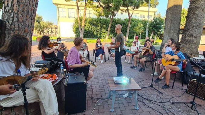 izmir collective imagination and music meetings started