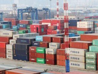 proizvedeno u dva posto kontejnera za suvi teret
