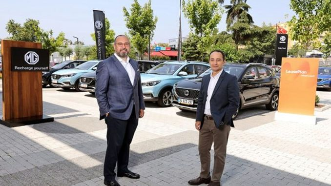 Electric conversion action with mg from leaseplan turkey