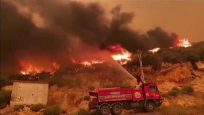 Bürger starb bei Waldbrand in Manavgat