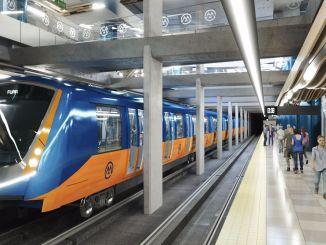 تطوير قوي في مشروع مترو مرسين