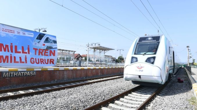 test drives of national electric train sets are starting