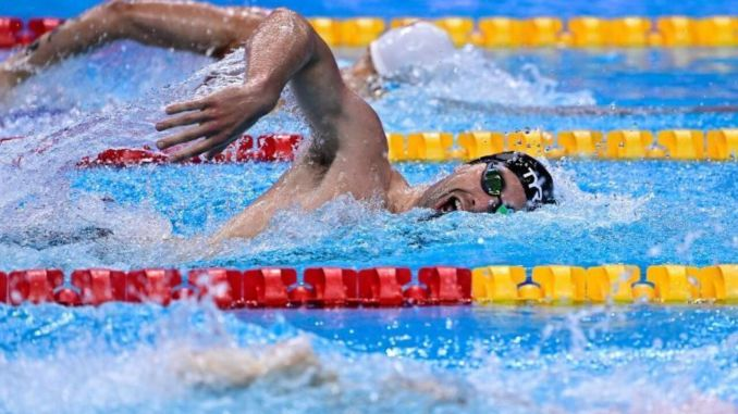 national swimmer baturalp said goodbye to the famous olympic games
