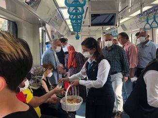 festivo con pezuk yht e personale e passeggeri marmaray