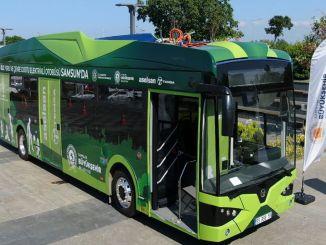 يبدأ العصر الصديق للبيئة في وسائل النقل العام في سامسون