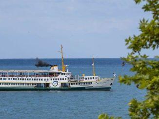 Корабль Сехит Темел Симсир свободен во время праздника.