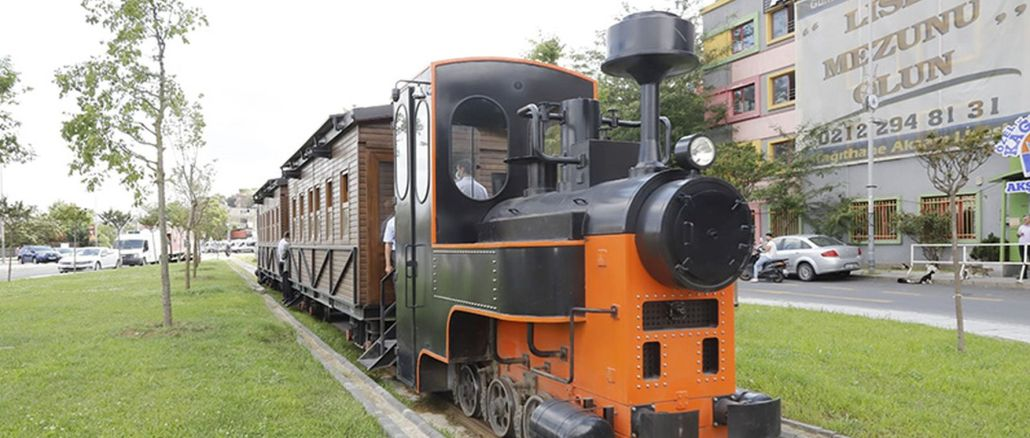 The historical Kagithane train will start operating free of charge in August.