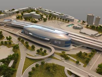 يستمر مشروع محطة القطار عالية السرعة tcdd sogutlucesme