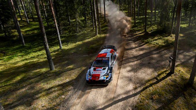 Ο οδηγός της toyota rovanpera κερδίζει το ράλι της Εσθονίας χάνοντας ρεκόρ