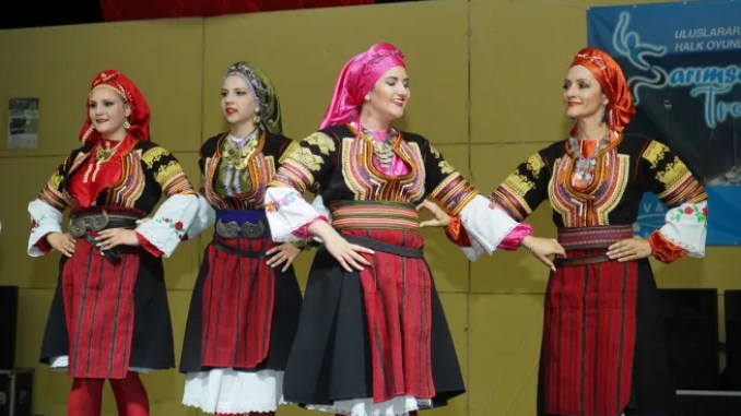 trophy international culture and folk dance festival was colorful
