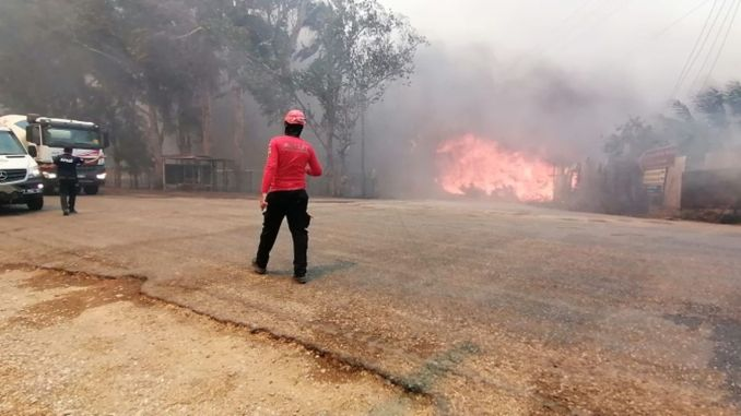 All aid organizations mobilized their resources for the fire disaster in Manavgat.