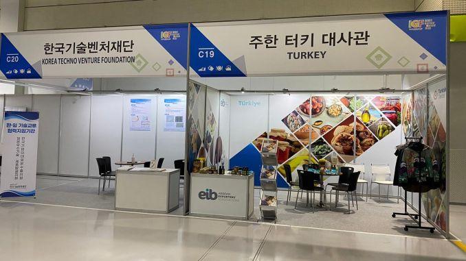 Türkische Exportprodukte wurden in Korea eingeführt