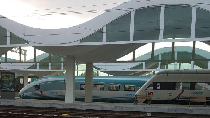 Оферта за комбиниран пътнически транспорт по гара Ескишехир-линия Бурса, свързана с YHT