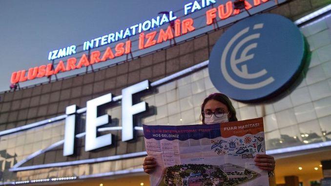 full day at izmir international fair