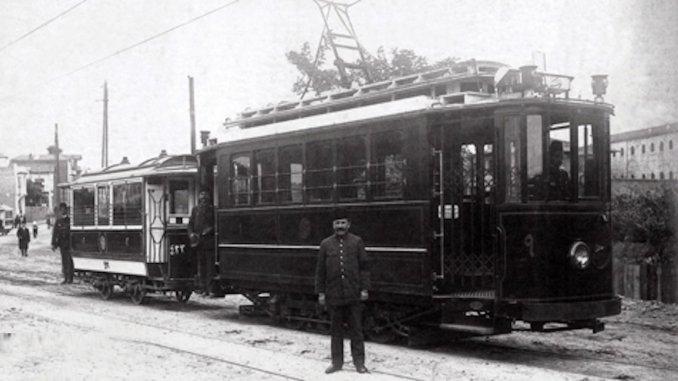 Istanbulun yillik tramvaylari son seferlerini yaptilar