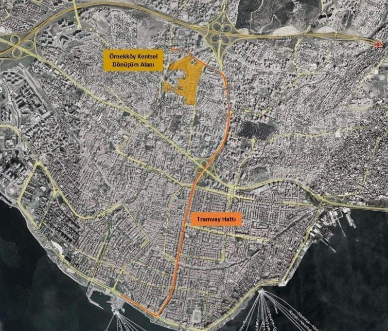 Ornekkoy न्यू Kyrenia ट्राम लाइन