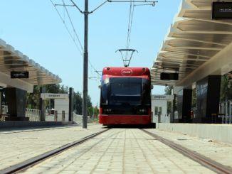 Test drives started on antalya stage rail system line