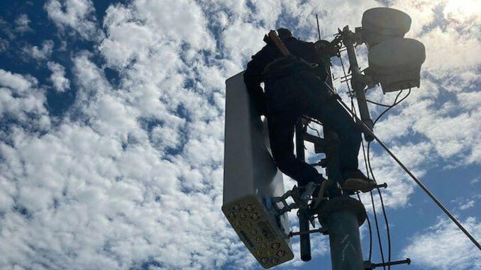 يتم اختبار الهوائي المحلي لشركة aselsa على شبكة turk telekom