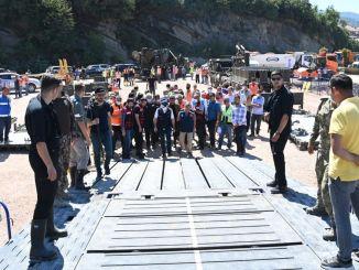 stalni mostovi u ayanciku bit će završeni u roku od mjesec dana