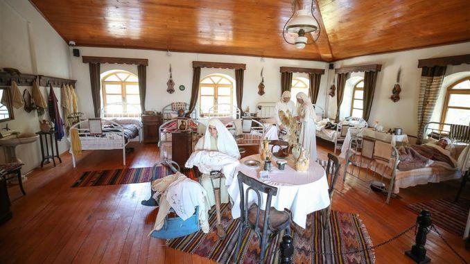 canakkale muharebeleri sihhiye muzesi ziyarete acildi