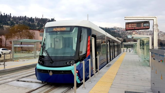 Cibali alibeykoy tram services have started again