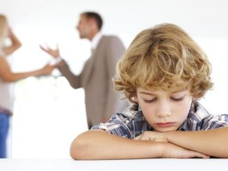 Don't argue in front of your child