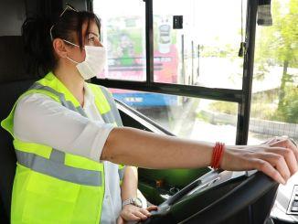 пријаве за запошљавање жена возача аутобуса генералног директората ега се настављају