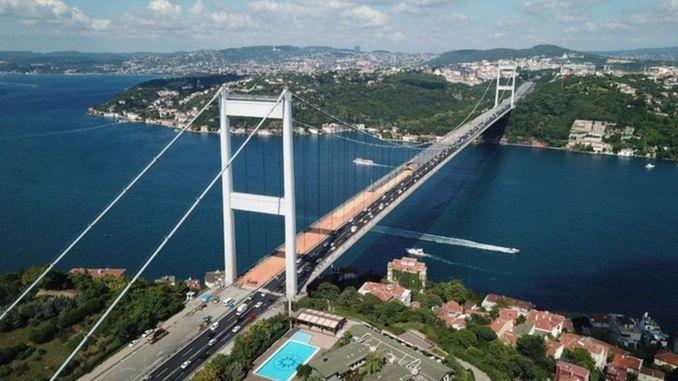 Почело је вишегодишње одржавање моста Фатих Султан Мехмет