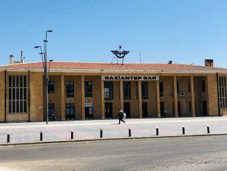 ترميم مبنى محطة غازي عنتاب وملحقاته