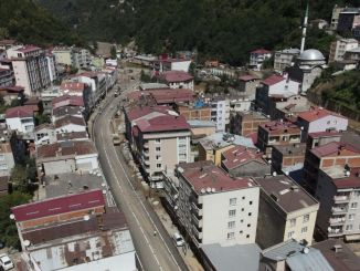 the traces of the disaster were erased in giresunda