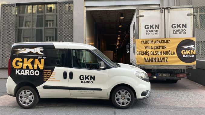 Free aid delivery to disaster areas with gkn cargo has started