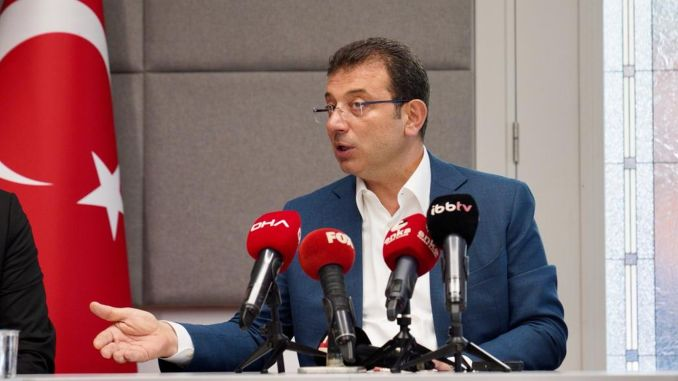 THK Planes Statement by İmamoğlu: 'We Are Starting Our Official Application Process Today'