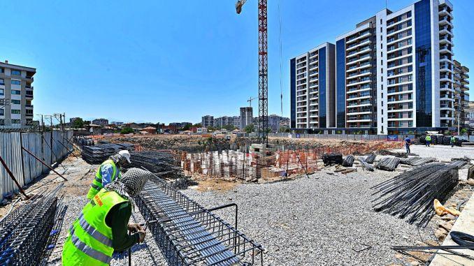izmir ornekkoy urban transformation project continues at full speed